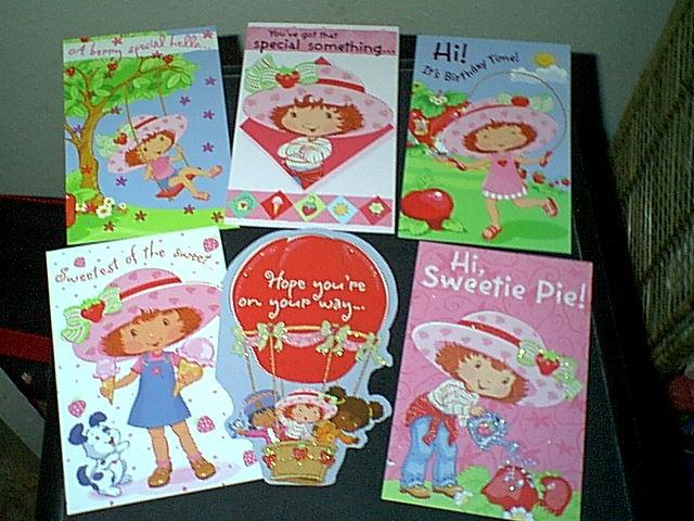 SSC 2003 PT 2 – Strawberry Shortcake Birthday Cards